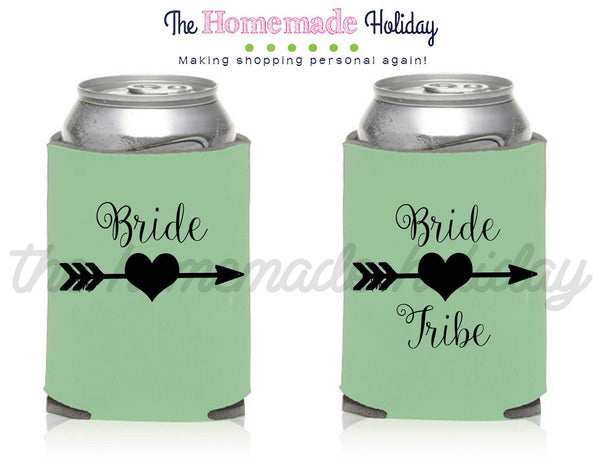 Bride and Bride Tribe Drink Cozie