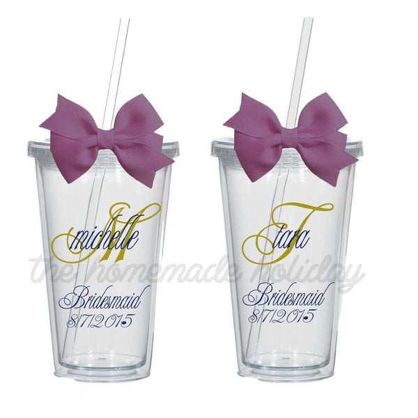 She's Fancy Name and Title  Bachelorette/Wedding Tumblers