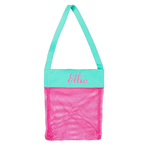 Hot Pink Shell Tote