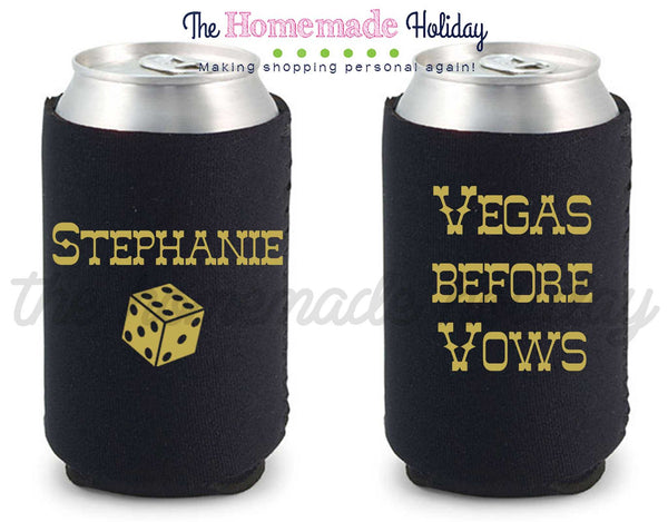 Vegas before Vows Drink Cozie