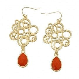 Tear Drop Bubble Casting Earring - The Best Accessory  - 1