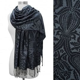 Antique Paisley Design Pashmina - The Best Accessory
