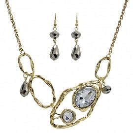 Oyster Motif Necklace Set - The Best Accessory