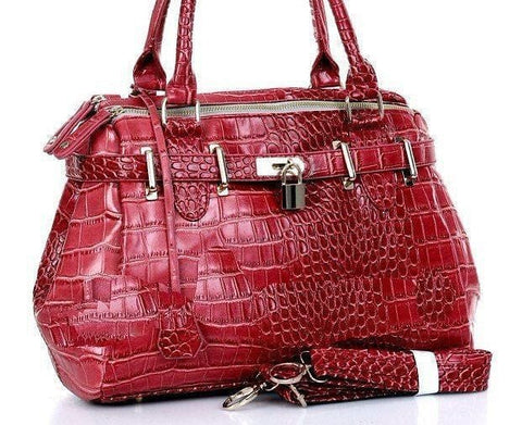 European Crocodile Pattern Handbag - The Best Accessory  - 1