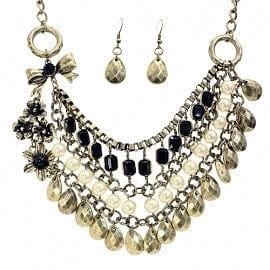 Vintage Look Multi Layered Necklace Set - The Best Accessory