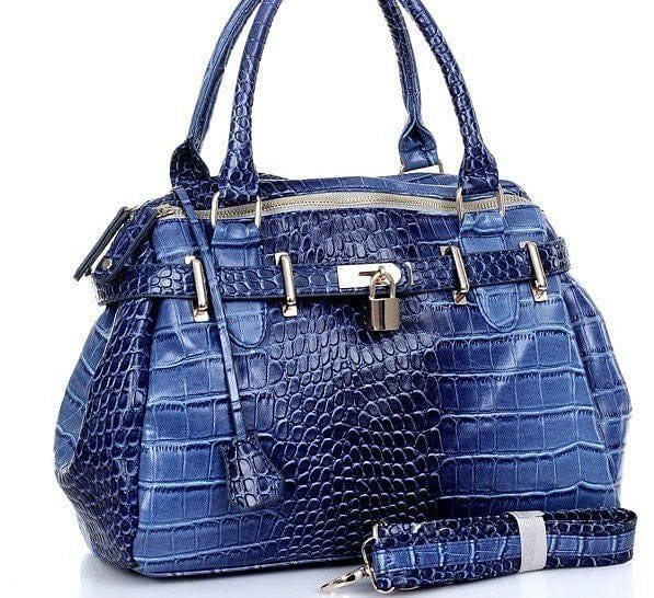 European Crocodile Pattern Handbag - The Best Accessory