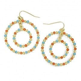 Bubble Circle Duo Earring - The Best Accessory