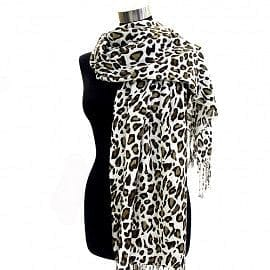 Soft Leopard Design Print Pashmina - The Best Accessory