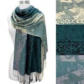 Reversible Tri Tone Pashmina - The Best Accessory