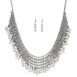 Pearl Dangled Chain Layer Necklace Set - The Best Accessory