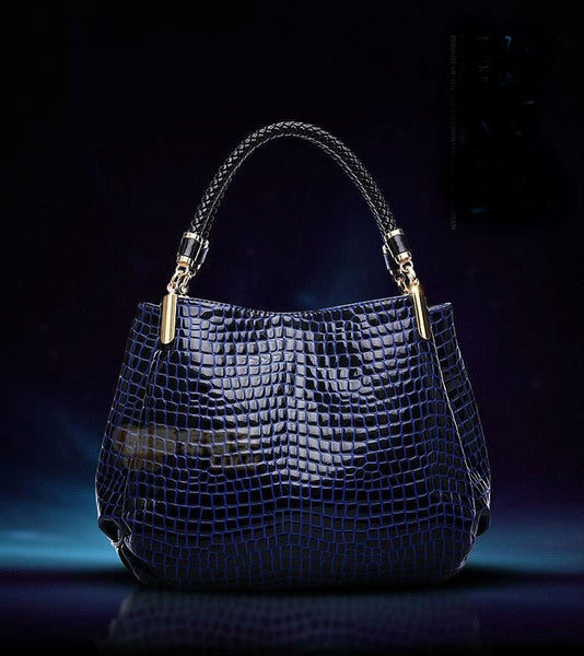 Crocodile Patterned Shoulder Bag - The Best Accessory