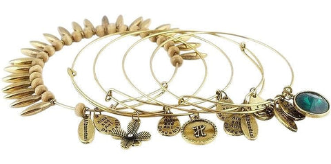 Bohemian Styled Charm Bangle Bracelets - The Best Accessory