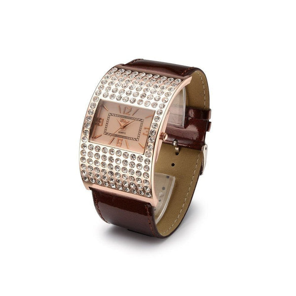 Crystal Quartz Watch - The Best Accessory