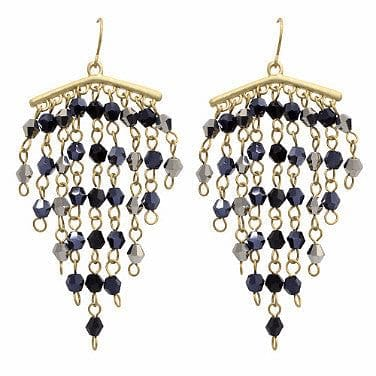 Cascading Crystal Earrings - The Best Accessory