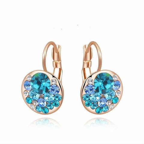 Italina Rigant Swarovsky Crystal Earrings - The Best Accessory