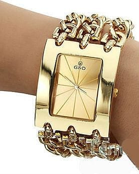 Gold Chain Watch - The Best Accessory