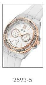 MISSFOX Analog Quartz Chronograph Rose Gold Sports Wristwatch - The Best Accessory