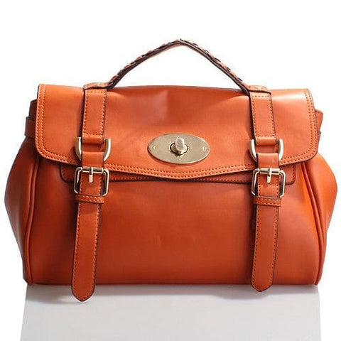 Genuine Nappa Leather Handbag - The Best Accessory