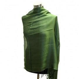 Shimmering Evening Shawl  - Green - The Best Accessory
