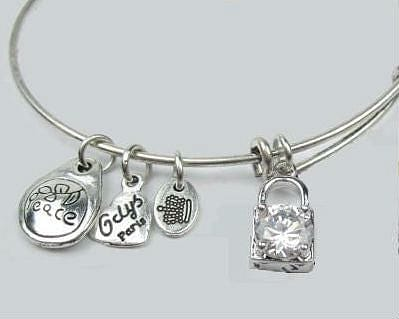 Silver Charm Bangle Bracelet - The Best Accessory  - 2