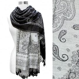 Reversible Two Toned Pashmina - The Best Accessory