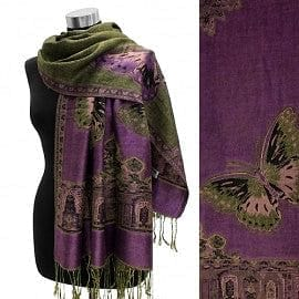Butterfly Reversible Pashmina - The Best Accessory
