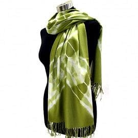 Cross Tie Dyed Light Weight Pashmina - The Best Accessory