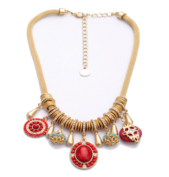 Greco Roman Charm Necklace - The Best Accessory