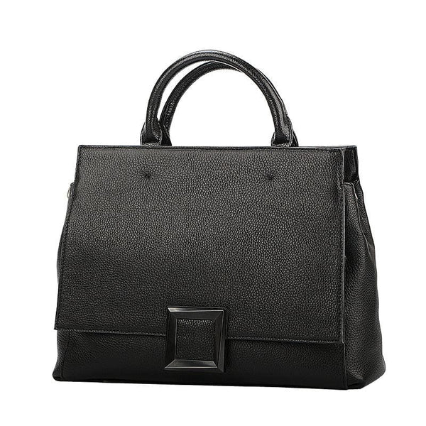 Genuine Leather Handbag  Luxury Elegant Shoulder Bag - The Best Accessory