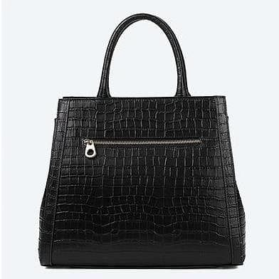 Leather Tote European Stylish Small Black Hand Bags - The Best Accessory