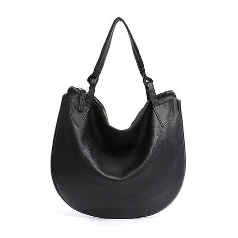 Large Luxury Leather Shoulder Hobo Handbag - The Best Accessory