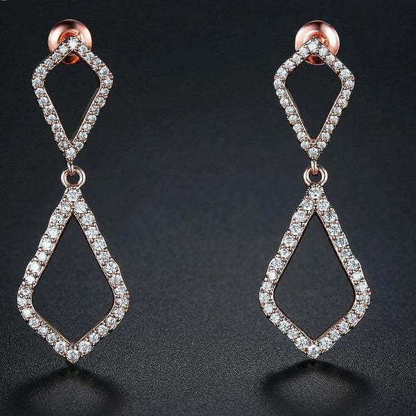 UMODE CZ Crystal Drop Earring Dangle Earrings - The Best Accessory