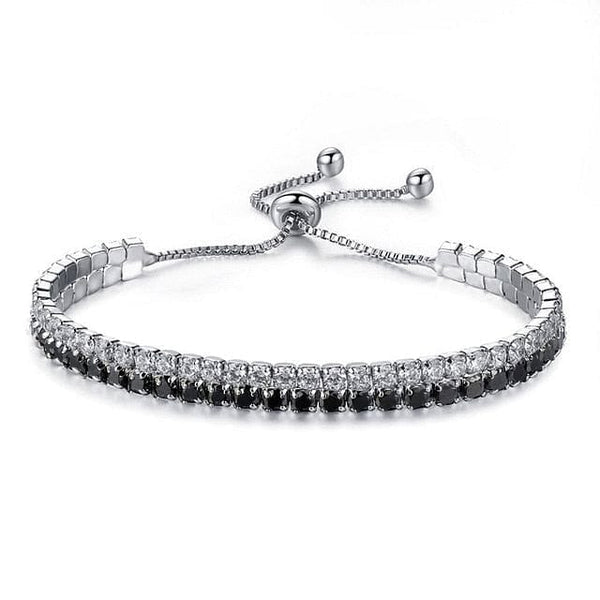 Cubic Zirconia Box Chain Tennis Bracelet - The Best Accessory