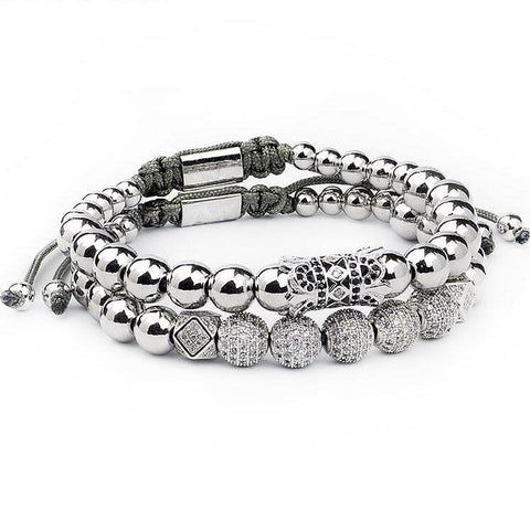 Stainless Steel beads bracelet  bracelets - The Best Accessory