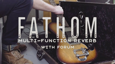 Walrus Audio Pedal Play: The Fathom Multi-Function Reverb