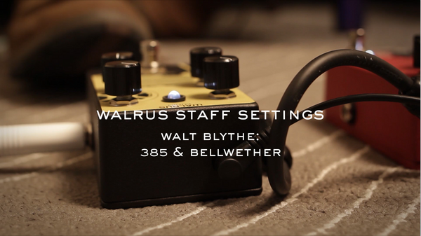 Walrus Staff Settings: Walt, 385 & Bellwether