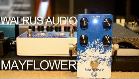 Walrus Audio Mayflower Overdrive Pedal Demo - Andy Othling