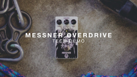 <br><br>Walrus Audio Messner Overdrive Technical Demo