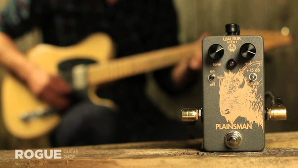 <br>Walrus Audio Plainsman - Overview by rogueguitarshop.com