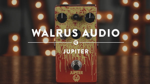 <br><br>Walrus Audio Jupiter Fuzz | Reverb Demo Video