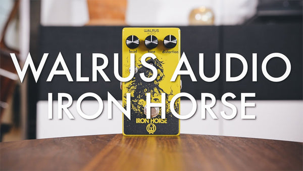 Walrus Audio Iron Horse - Livingroom Gear Demo