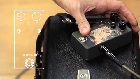 <br>Walrus Audio Plainsman Dual Stage Clean Boost Technical Demo