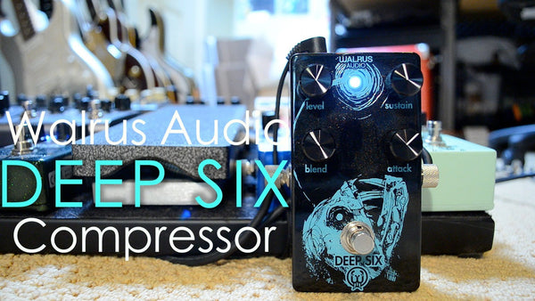 <br><br>Walrus Audio Deep Six Compressor