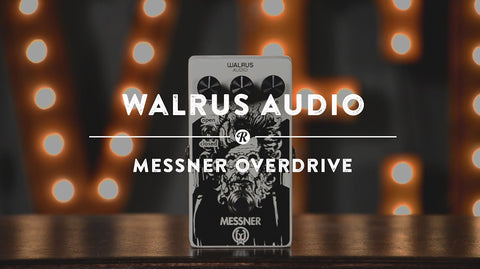 Walrus Audio Overdrive | Reverb Demo Video