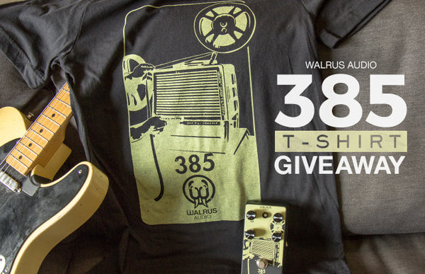 385 T-Shirt Giveaway