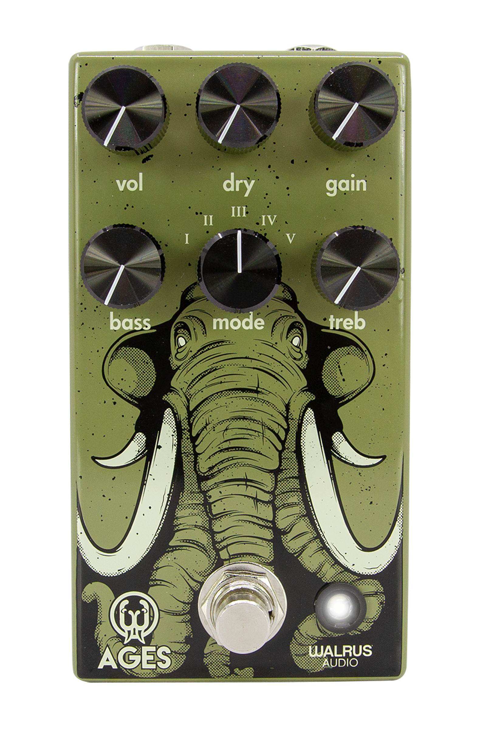 An overdrive with mammoth sized versatility.