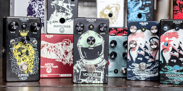 Limited Edition Pedal Art