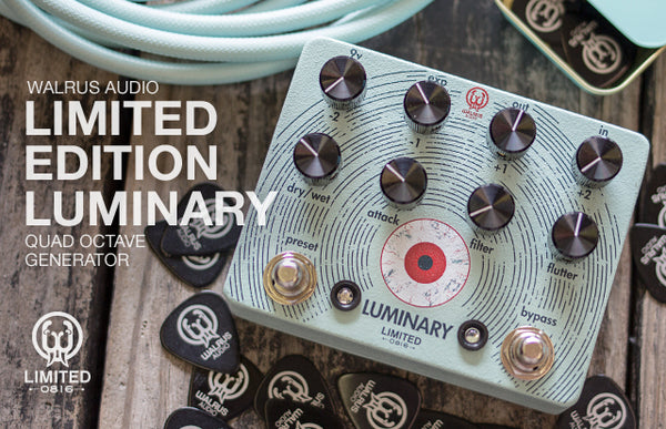 Limited Edition Luminary