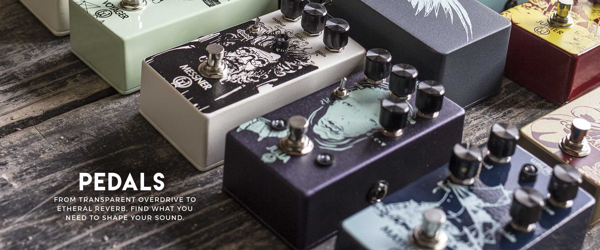 walrus audio pedals collection
