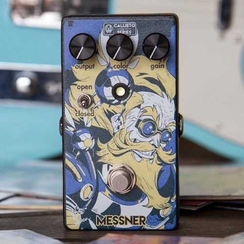 Messner Transparent Light-Gain Overdrive - Callisto Series